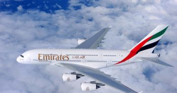 Emirates-A380-Aircraft-In-Flight