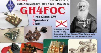 GH4FOC QSL front