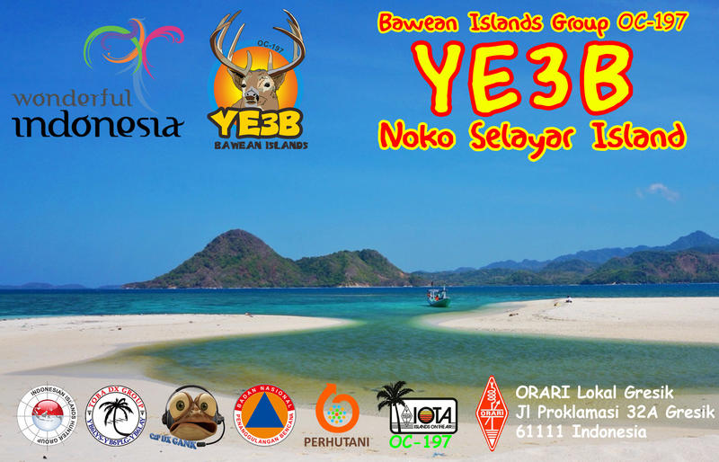 YE3B Noko Selayar