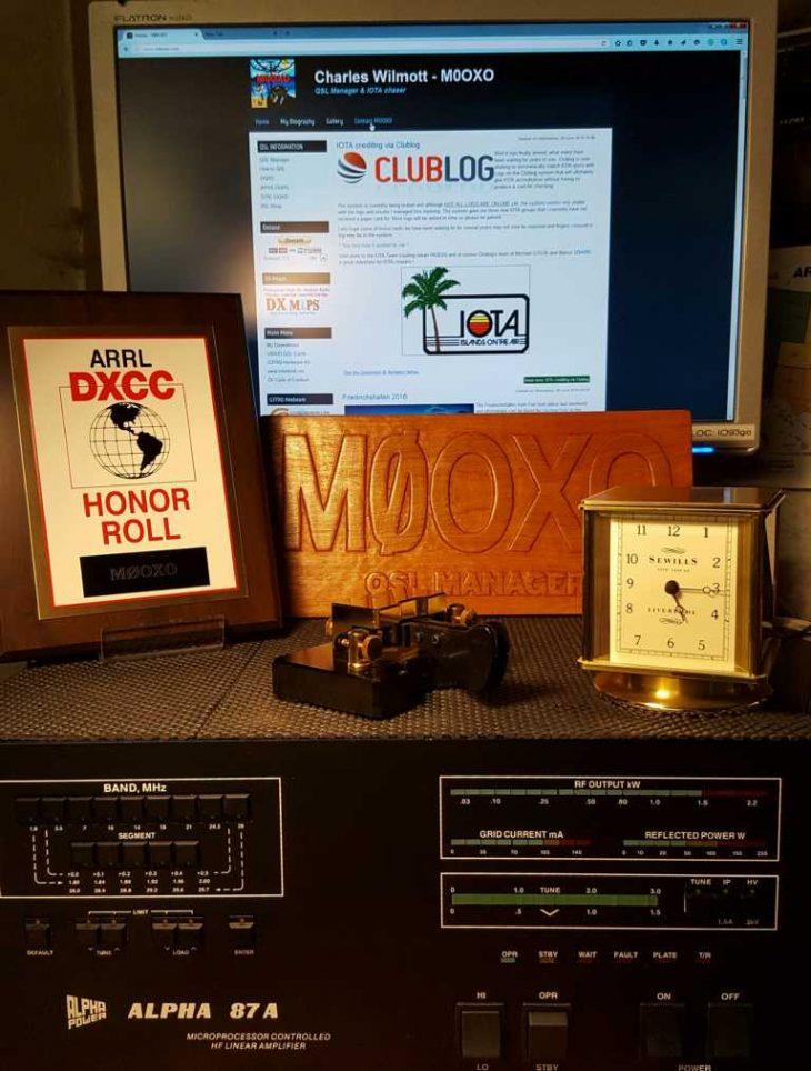 K1024 DXCC HR Plaque Shack
