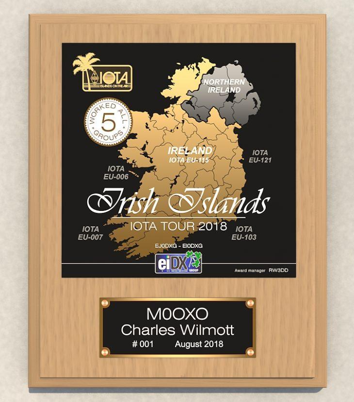 Irish Islands M0OXO 1