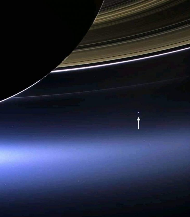 saturn and eartth